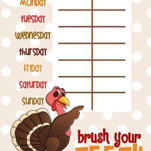 Brush Your Teeth Chart