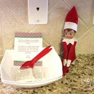 Elf on the Shelf Brings Snow to Texas