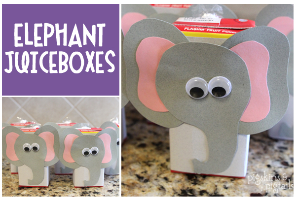 Elephant Theme 3rd Birthday Party Pigskins Pigtails – Elephant Birthday Invitations