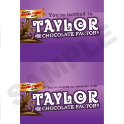 Charlie And The Chocolate Factory Golden Ticket Amp Wrapper