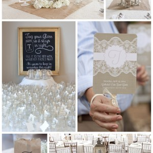 Texas Wedding   Burlap and Lace