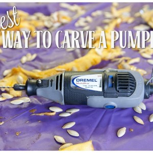 Easiest Way to Carve a Pumpkin