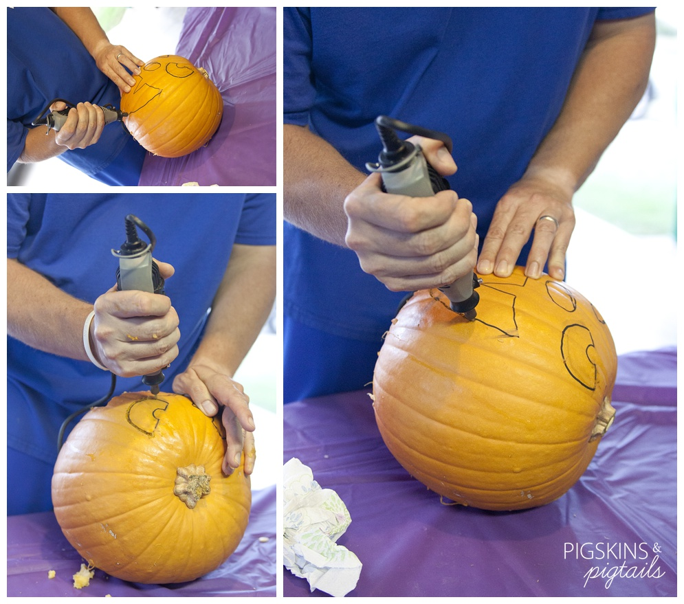 an introduction to carving a pumpkin