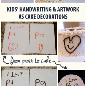 Easy Cake Decorating with Kids