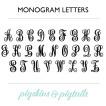 script-monogram-alphabet
