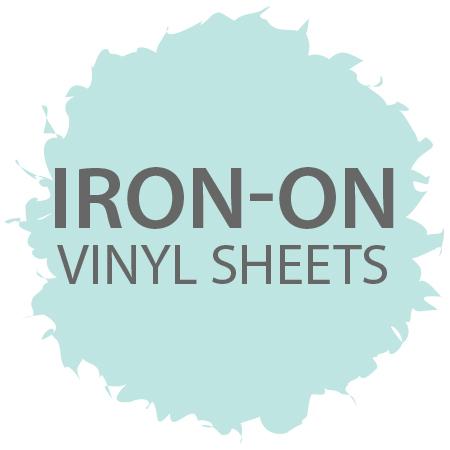 Iron-On Vinyl Sheets