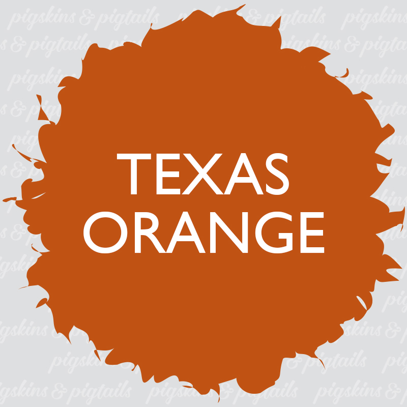 Texas Orange Craft Vinyl