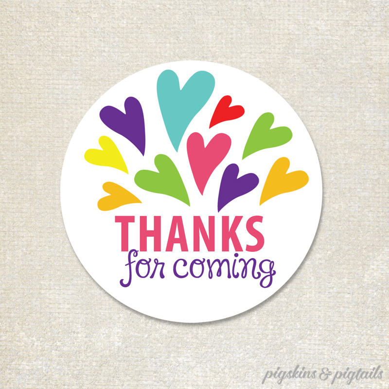 Elephant Thank You Tags 2 5 Inches Pigskins Amp Pigtails