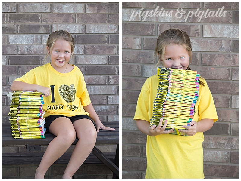 Nancy Drew and the Clue Crew book series for young girls