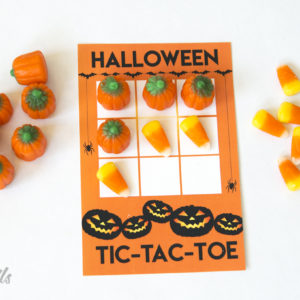 Halloween Tic-Tac-Toe Printable