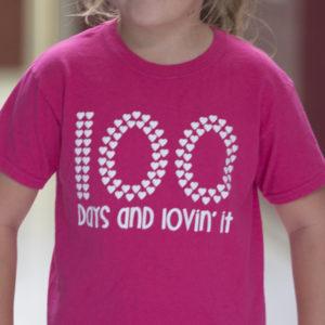 100th Day of School Shirt Design