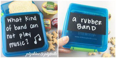 Lunchbox Jokes Chalkboard