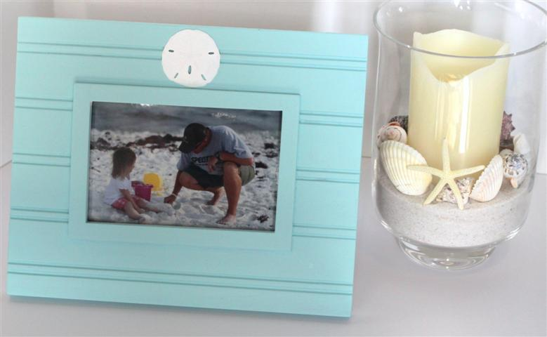 Summer Mantel {Beach Theme}