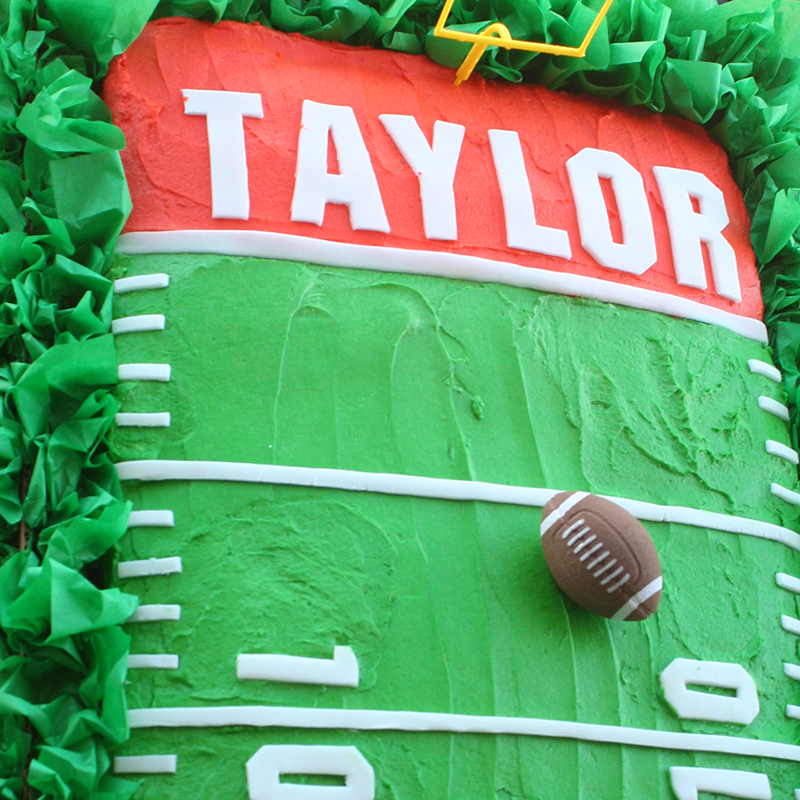 Football Team Spirit Birthday Party Theme