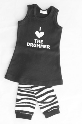 Band Onesies {Baby Gift Idea}