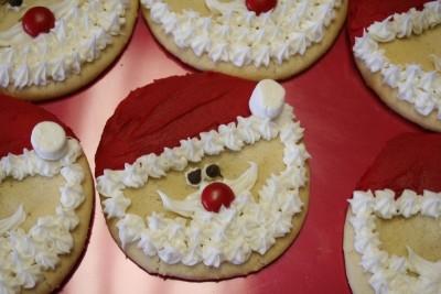 Santa Cookies