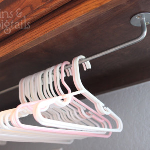 Hanger Organization in the Laundry Room
