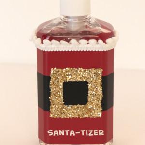 Santa-tizer | Christmas in July