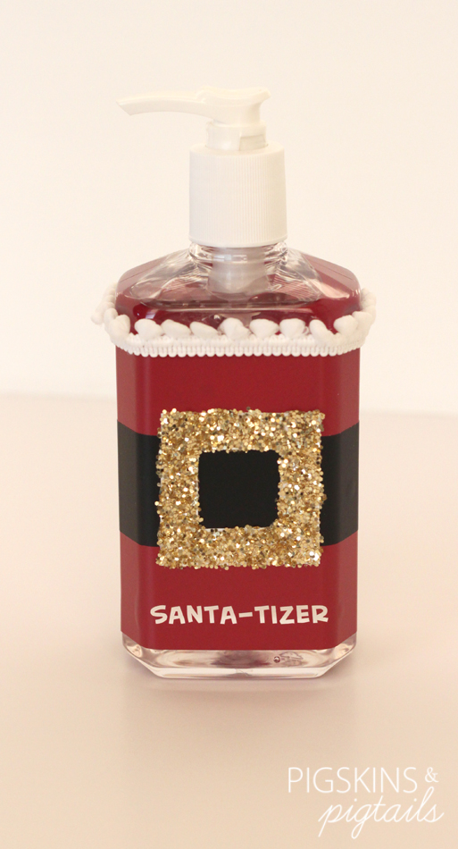 Santa-tizer | Christmas in July