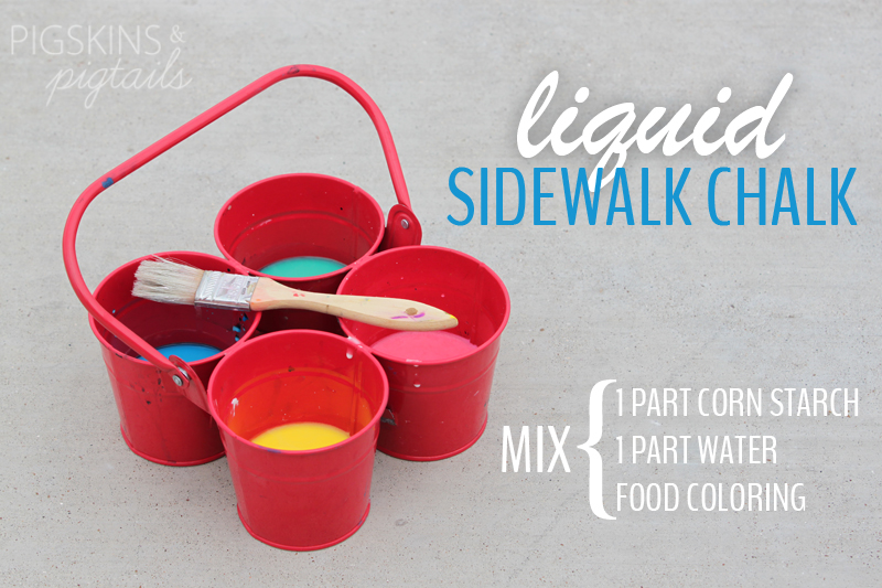Liquid Sidewalk Chalk