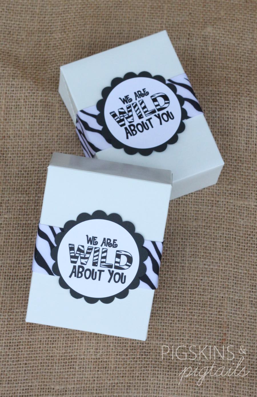 Wild About You Teacher Gift + Printable