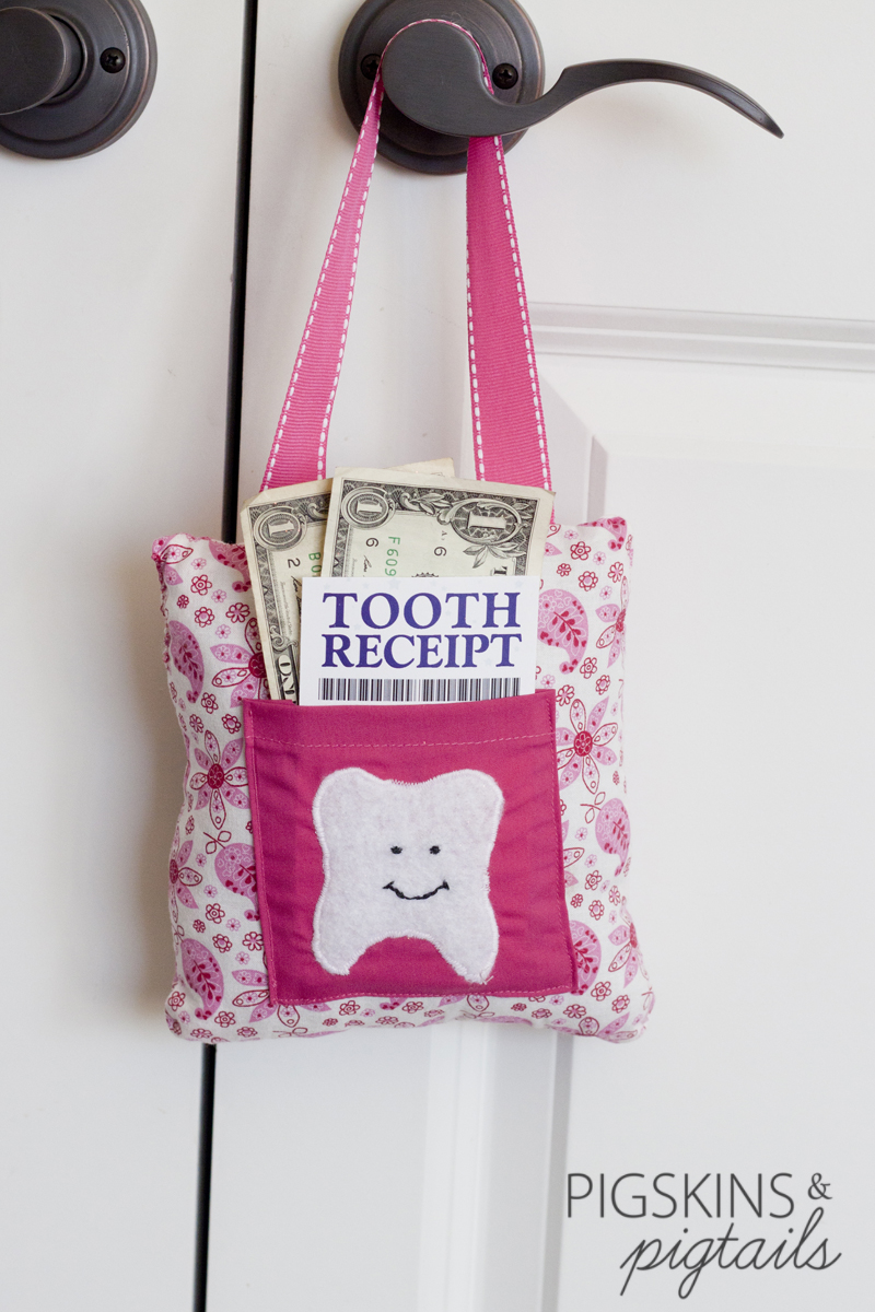 Tooth fairy printable receipt