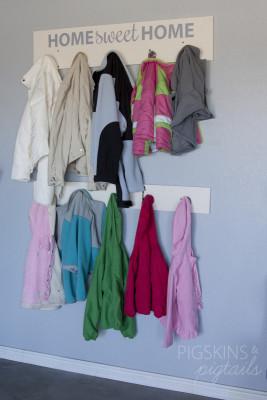 Garage Coat Organization
