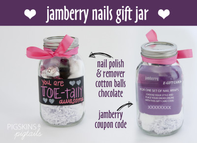 Jamberry Gift Jar Idea