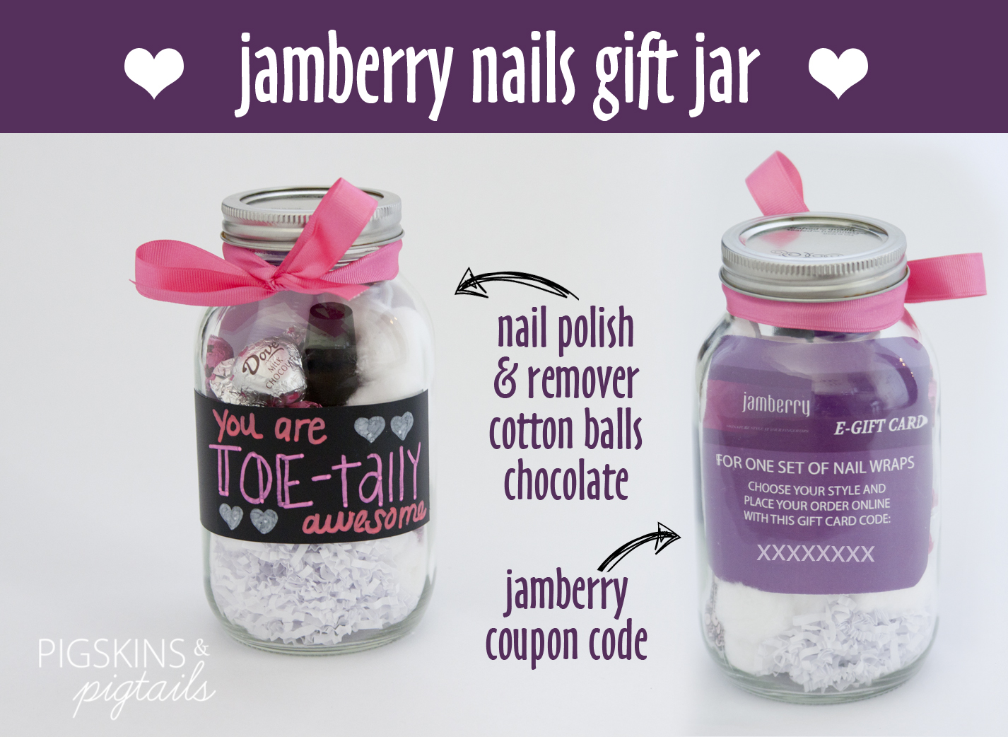 Jamberry Gift Jar Idea