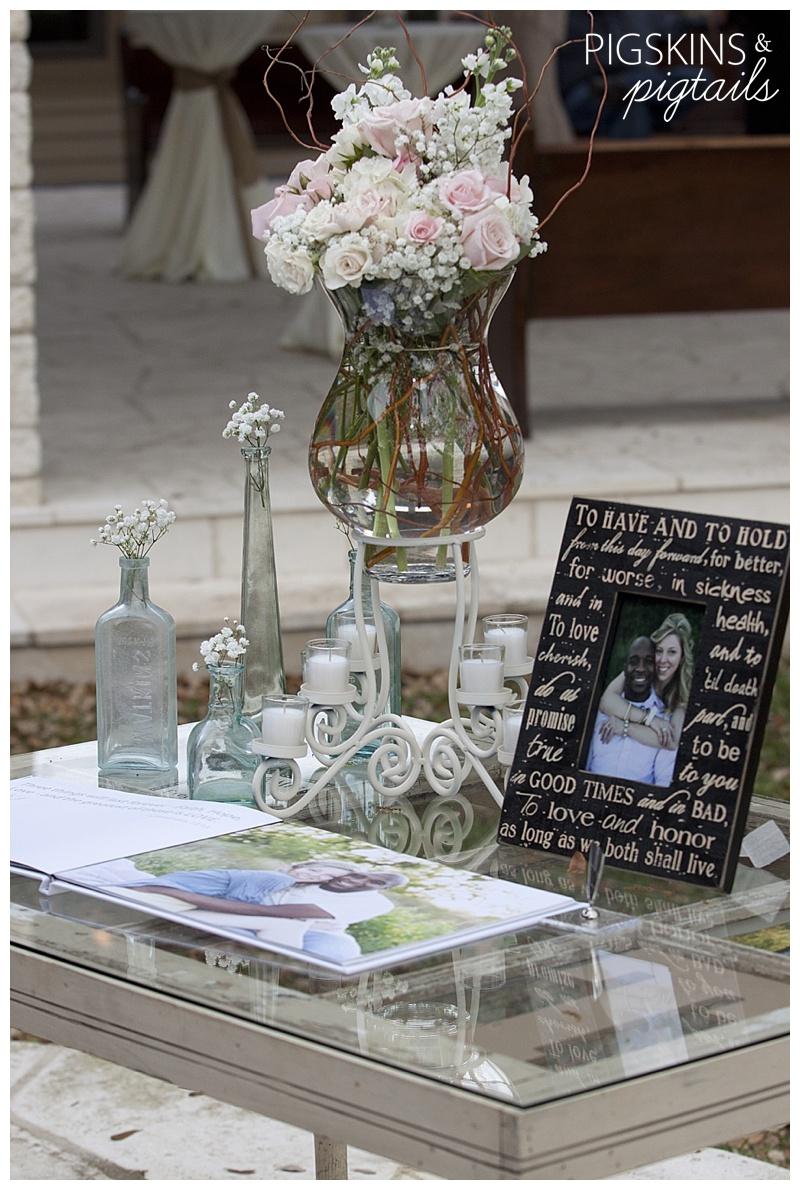 Wedding Details | Burlap and Lace
