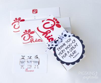 Chick-fil-A Teacher Gift