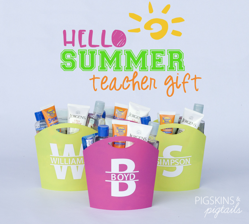 Hello Summer! Teacher Gifts
