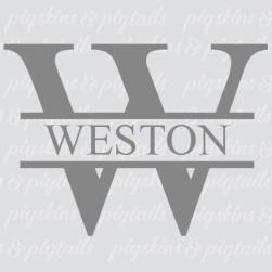 split-letter