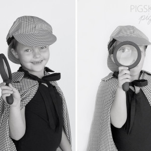 DIY Zookeeper and Detective Costumes