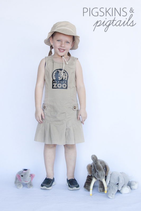 Zookeeper Costume for Girls