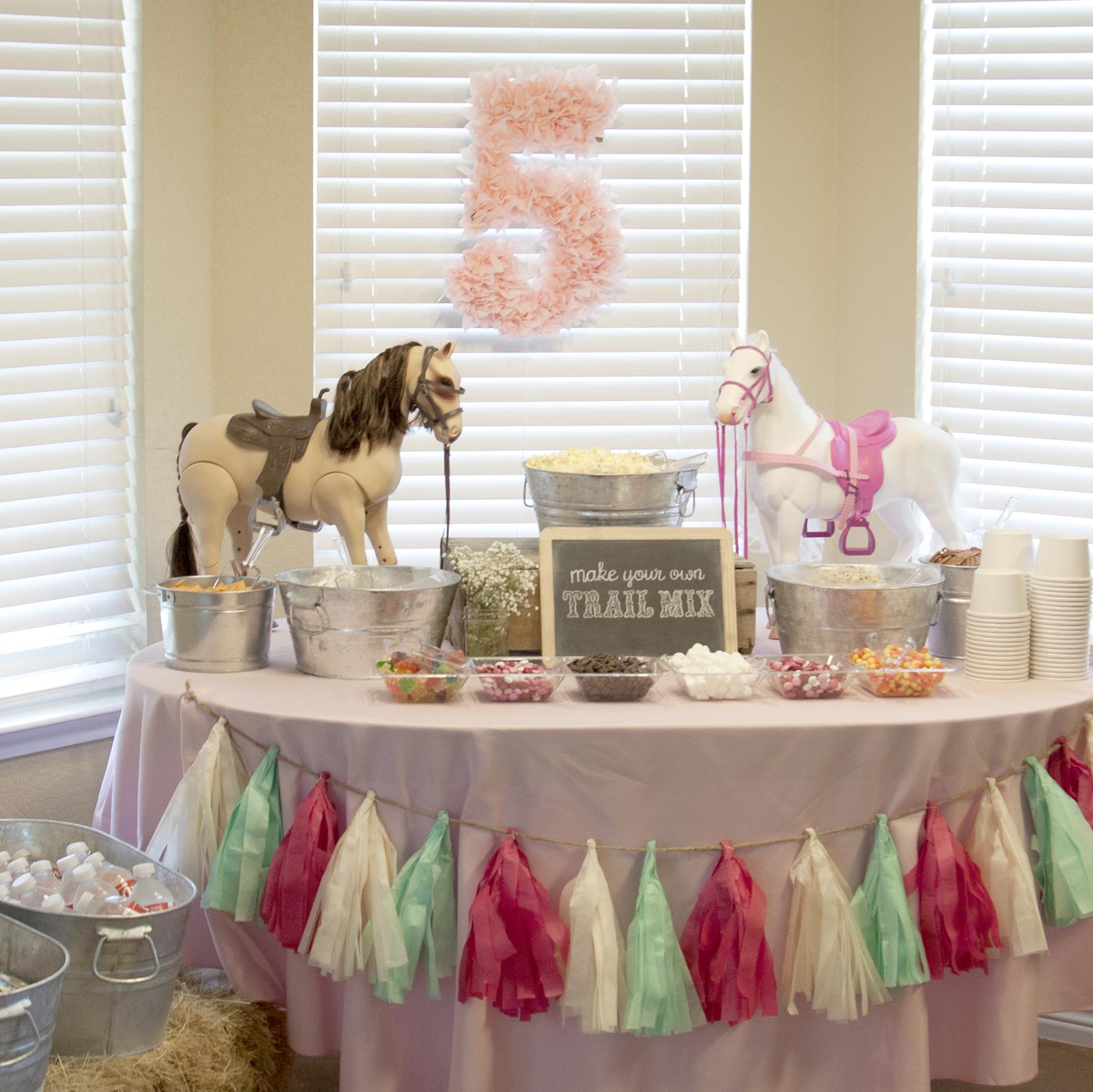 Pony 5th Birthday Party