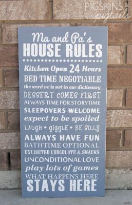 Grandparent Wooden Sign