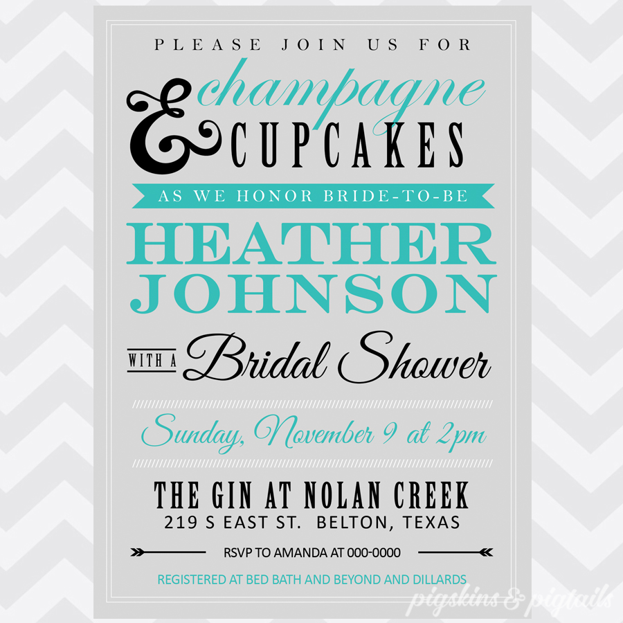 champagne cupcakes shower