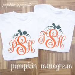 pumpkin-monogram-shirts