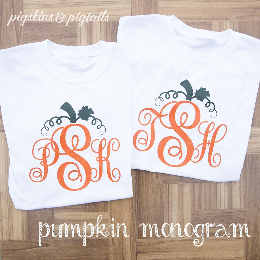 pumpkin-monogram-shirts
