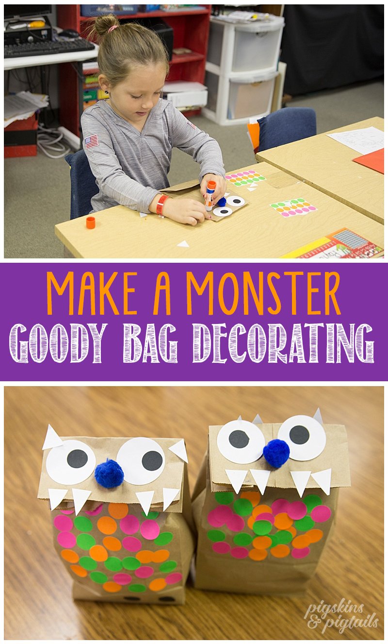 halloween-class-monster-bag-decorating