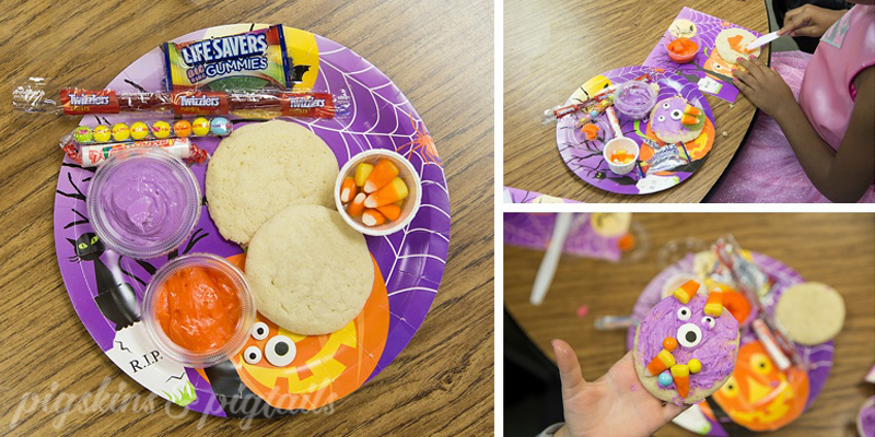 Monster Cookie Decorating Class Party