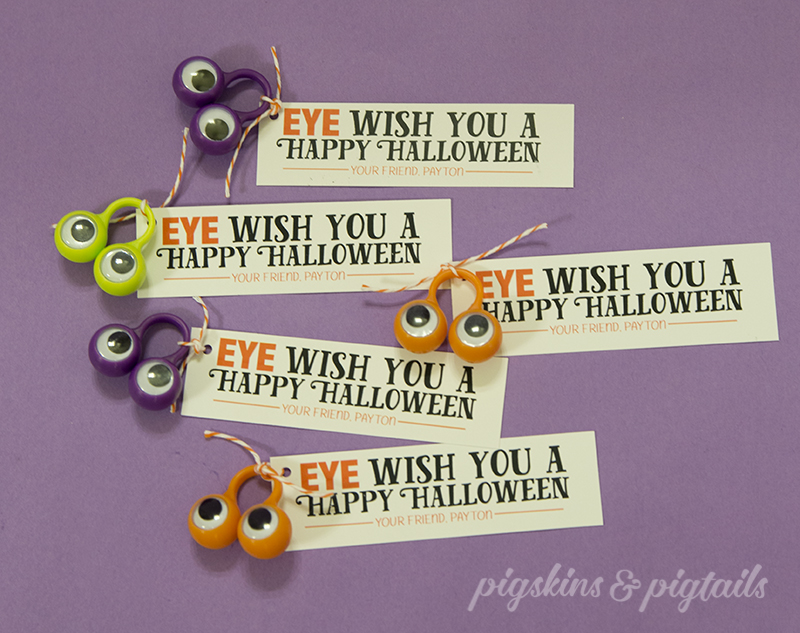 Halloween Treat Tag