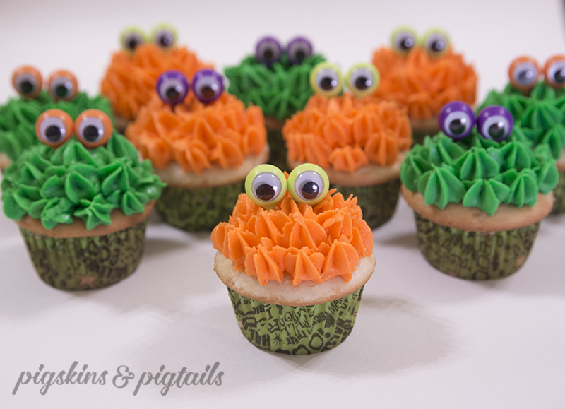 Monster Cupcakes Eye