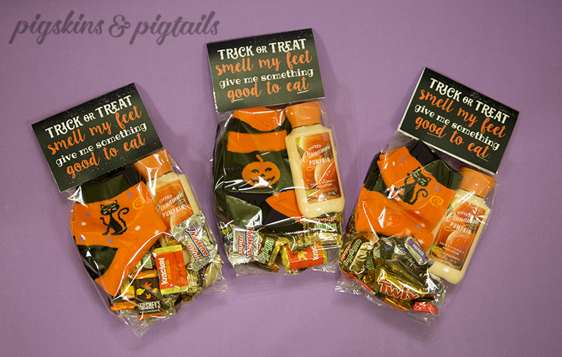 Teacher Treat Bag Halloween