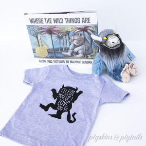 Where The Wild Things Are Gift Idea