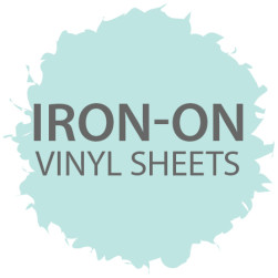 Iron-On Vinyl Sheets