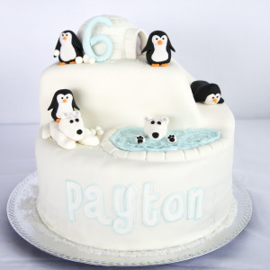 Polar Bears & Penguins Winter Pool Party