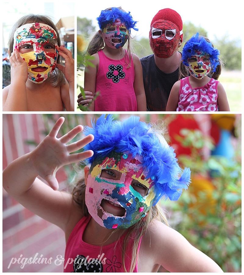 mask-making-summer-project