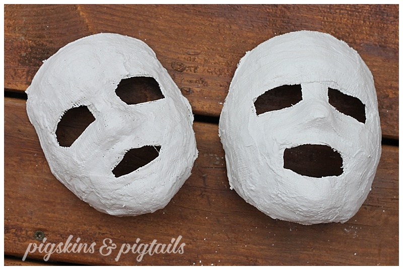 How to make plaster mask